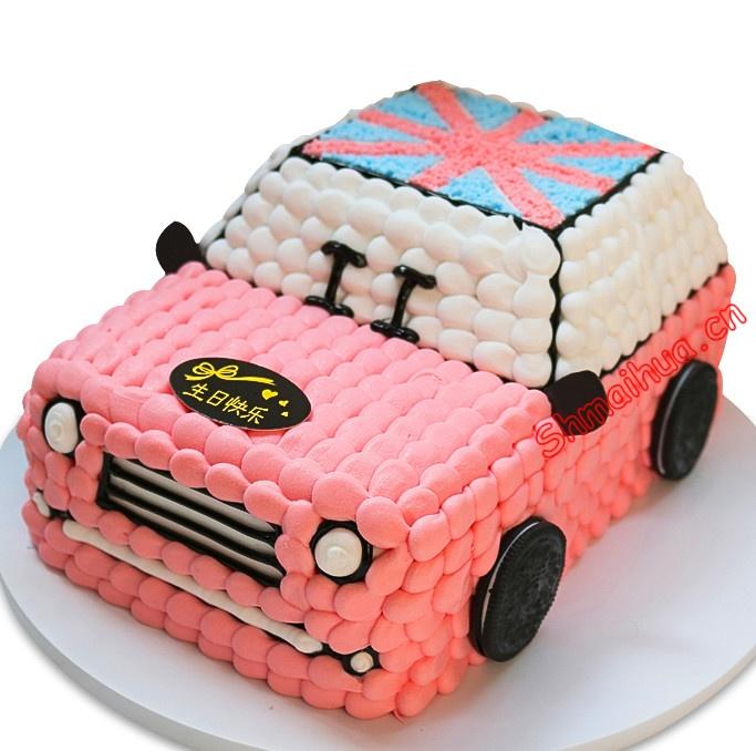 创意汽车蛋糕
