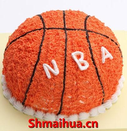 """篮球蛋糕"""""""
